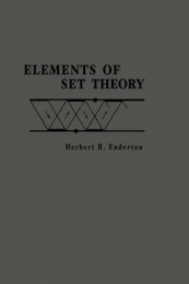 ELEMENTS OF SET THEORY (H/C)