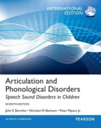 ARTICULATION AND PHONOLOGICAL DISORDERS: SPEECH SOUND DISORDERS IN CHILDREN (IE)