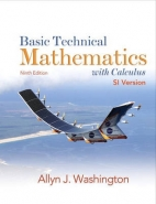 BASIC TECHNICAL MATHEMATICS WITH CALCULUS (HC)(SI VERSION)