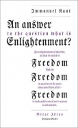 ANSWER TO THE QUESTION: WHAT IS ENLIGHTENMENT