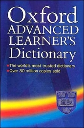 OXFORD ADVANCED LEARNERS DICTIONARY (REFER ISBN 9780194799515 ...