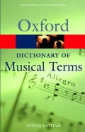OXFORD DICT OF MUSICAL TERMS