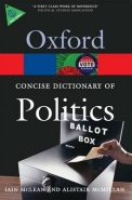 CONCISE OXFORD DICT OF POLITICS