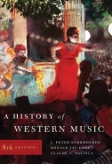 HISTORY OF WESTERN MUSIC (IE)