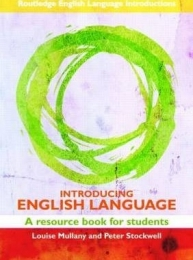 INTRO ENGLISH LANGUAGE: A RESOURCE BOOK FOR STUDENTS