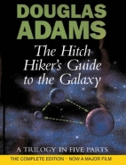 HITCHHIKERS GUIDE TO THE GALAXY A TRIOLOGY IN 5 PARTS INCL: MOSTLY HARMLESS