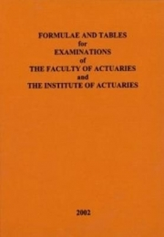 formulae and tables for actuarial examinations 2002 pdf