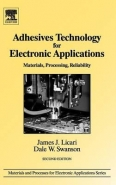 ADHESIVES TECHNOLOGY FOR ELECTRONIC APPLICATIONS: MATERIALS PROCESSING RELIABILITY (H/C)