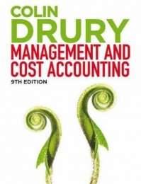 MANAGEMENT AND COST ACCOUNTING (WITH STUDENT MANUAL)