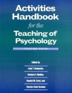 ACTIVITIES HANDBOOK FOR THE TEACHING OF PSYCHOLOGY (VOLUME 4)