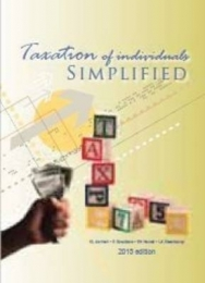 TAXATION OF INDIVIDUALS SIMPLIFIED 2013