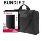 ACER BUNDLE 2 WITH BAG & 500GB EXTERNAL HARDDRIVE