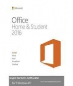 MICROSOFT OFFICE 2016 HOME AND STUDENT EDITION