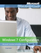 70-680: WINDOWS 7 CONFIGURATION