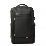 BAG BACKPACK KINGSONS 15.6 INCH CHARGE SERIES WITH USB PORT BLACK