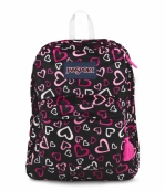 BAG BACKPACK HIGH STAKES PINK TULIP LOTS OF LOVE