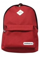 BAG BACKPACK LAPTOP VOLKANO DISTINCT SERIES 15.6 INCH RED