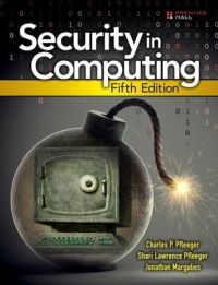 SECURITY IN COMPUTING (H/C)
