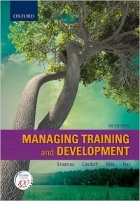 MANAGING TRAINING AND DEVELOPMENT IN SA