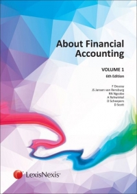 ABOUT FINANCIAL ACCOUNTING (VOLUME 1) (REFER TO 9780639003658)