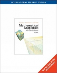 MATHEMATICAL STATISTICS WITH APPLICATIONS (IE)