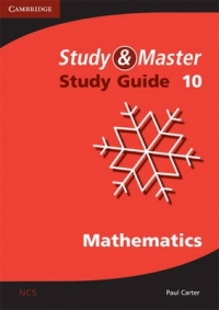 MATHEMATICS GR 10 (STUDY AND MASTER) (STUDY GUIDE)