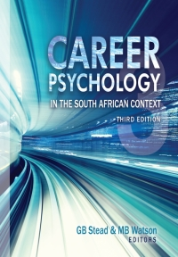 CAREER PSYCHOLOGY IN THE SA CONTEXT