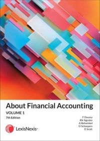 ABOUT FINANCIAL ACCOUNTING (VOLUME 1) (REFER ISBN 9780639008646)