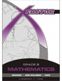X FACTOR MATH GR 8 (STUDYGUIDE) (CAPS)