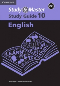 STUDY AND MASTER ENGLISH GR 10 (STUDY GUIDE) (CAPS)