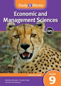 STUDY AND MASTER ECONOMIC AND MANAGEMENT SCIENCES GR 9 (LEARNERS BOOK) (CAPS)