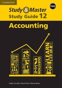 STUDY AND MASTER ACCOUNTING GR 12 (STUDY GUIDE) (CAPS)