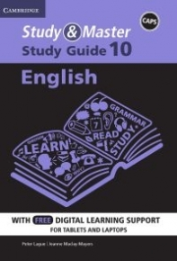 STUDY AND MASTER ENGLISH GR 10 (STUDY GUIDE) (BLENDED)