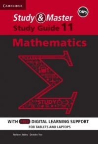 STUDY AND MASTER MATHEMATICS GR 11 (STUDY GUIDE) (BLENDED)