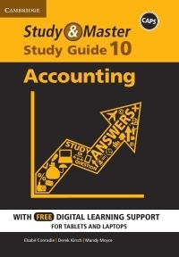 STUDY AND MASTER ACCOUNTING GR 10 (STUDY GUIDE) (BLENDED)