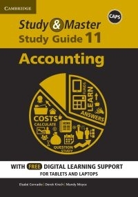 STUDY AND MASTER ACCOUNTING GR 11 (STUDY GUIDE) (BLENDED)