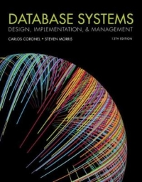 DATABASE SYSTEMS: DESIGN IMPLEMENTATION AND MANAGEMENT