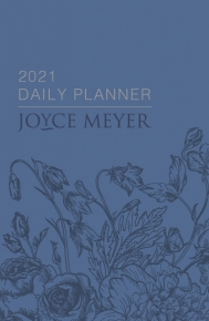 JOYCE MEYER DAILY PLANNER 2021 (A5 WITH ZIP)
