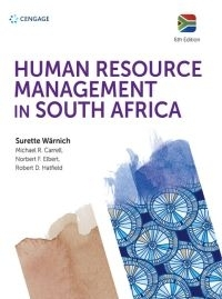 HUMAN RESOURCE MANAGEMENT IN SA