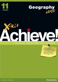 X KIT ACHIEVE GEOGRAPHY GR 11 (STUDY GUIDE)