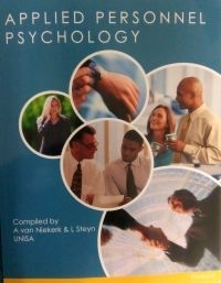 APPLIED PERSONNEL PSYCOLOGY