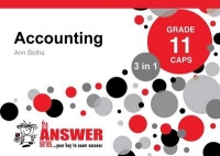ACCOUNTING GR 11 (3 IN 1) (CAPS) (THE ANSWER SERIES)