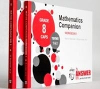 MATHS COMPANION GR 8 (WORKBOOK 1 AND 2)  (THE ANSWER SERIES)