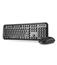 ASTRUM WIRELESS KEYBOARD AND MOUSE KW300 COMBO ENGLISH BLACK