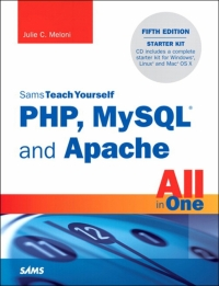 SAMS TEACH YOURSELF PHP MYSQL AND APACHE ALL IN 1