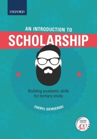 INTRODUCTION TO SCHOLARSHIP BUILDING ACADEMIC SKILLS FOR TERTIARY STUDY