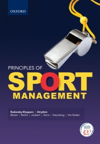 PRINCIPLES OF SPORT MANAGEMENT