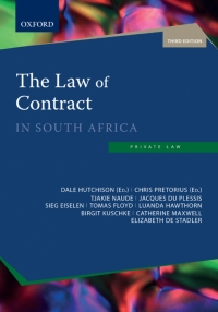 LAW OF CONTRACT IN SA