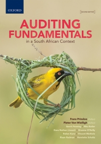 AUDITING FUNDAMENTALS IN A SA CONTEXT