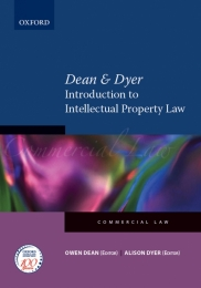 DEAN AND DYER INTRODUCTION TO INTELLECTUAL PROPERTY LAW